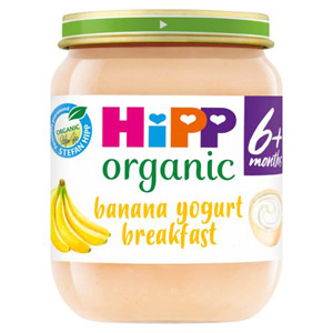 Hipp 4 Month Organic Banana Yogurt Breakfast