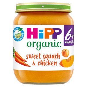 Hipp 4 Month Organic Sweet Squash & Chicken