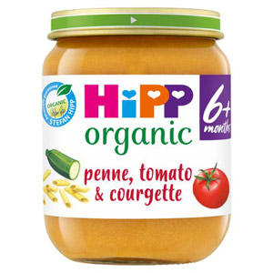 Hipp 6 Month Organic Penne with Tomato & Courgette