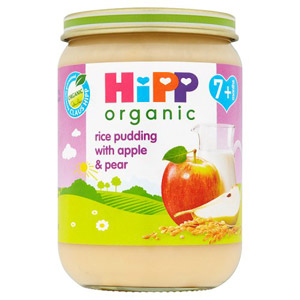 Hipp 7 Month Organic Rice Pudding Apple & Pear
