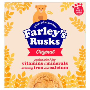 Farleys Rusks 4 Month Original 18 Pack