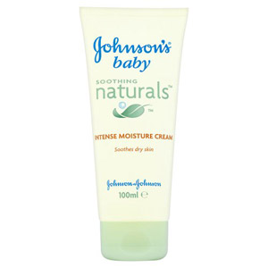 Johnsons Baby Soothing Natural Cream