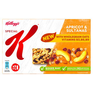 Kelloggs Special K Apricot and Sultana 5 Pack