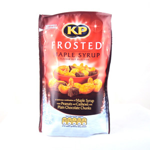 KP Frosted Maple Syrup Nut Mix Pouch