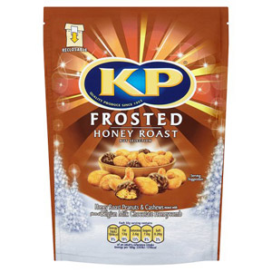 KP Frosted Honey Roast Nut Mix Pouch