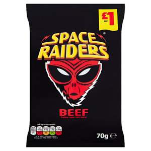KP Space Raiders Beef Price Marked