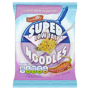 Batchelors Sweet Thai Chilli 98% Fat Free Super Noodles