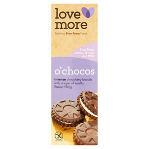 Lovemore Free From O'Choco Biscuits