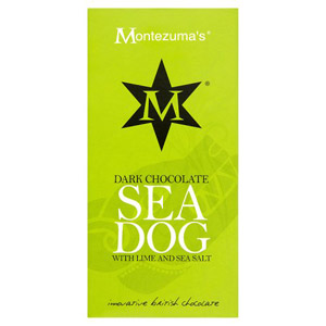 Montezuma's Dark Chocolate 'Sea Dog' With Lime & Sea Salt