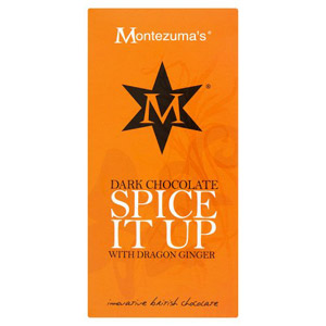 Montezuma's Dark Chocolate 'Spice It Up' With Dragon Ginger