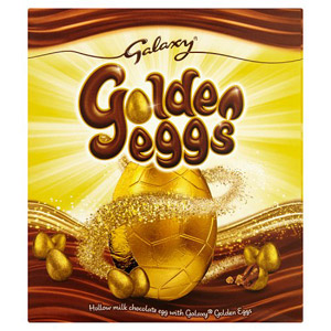 Galaxy Golden Eggs Large Easter Egg