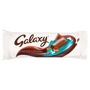 Galaxy Salted Caramel Standard Bar