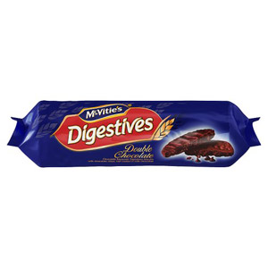 Mcvities Double Chocolate Digestives