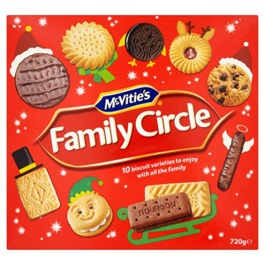 McVities Family Circle Carton