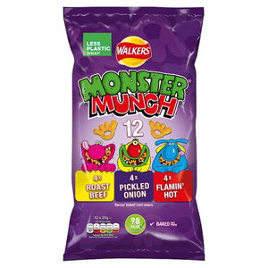 Monster Munch Assorted 12 Pack