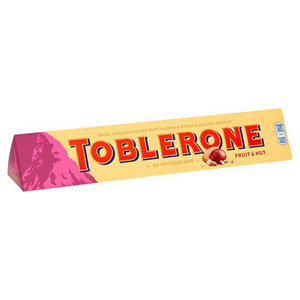 Toblerone Fruit & Nut Sleeve