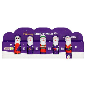 Cadbury Dairy Milk Mini Hollow Santas