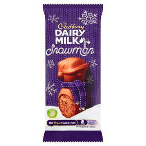 Cadbury Mousse Snowman Chocolate