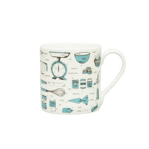 Victoria Eggs Baking Delight Mug Teal