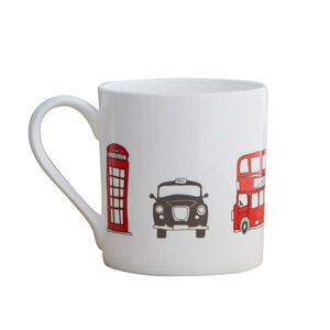 Victoria Eggs London Skyline Mug
