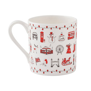 Victoria Eggs London Christmas Mug