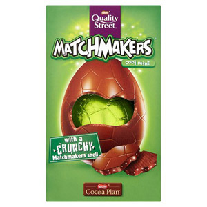 Quality Street Matchmakers Mint Easter Egg