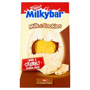 Milkybar Cookies and Cream Inclusion Egg