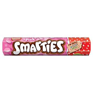 Pink Smarties Giant Tube