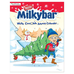 Milkybar White Chocolate Advent Calendar