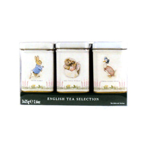 New English Teas Beatrix Potter Mini Tins