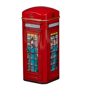 Telephone Box Tin 14 Teabags