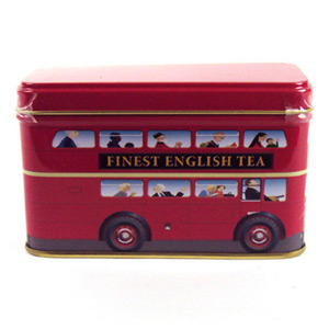 London Bus Tin 10 Teabags