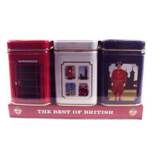 Englands Favourites Heritage Tins Pack