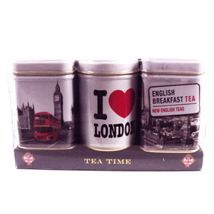 Tea Time Mini Tins