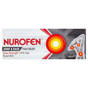 Nurofen Joint & Back Pain Relief Gel With Ibuprofen