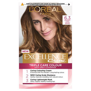 Loreal Paris Excellence Natural Light Golden Brown 63 Hair Dye