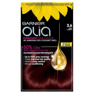 Garnier Olia Permanent Hair Dye Deep Cherry 36