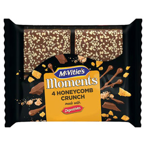 McVities Moments Honeycomb Crunch 4 Pack