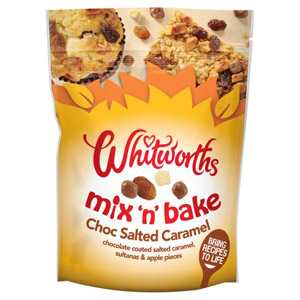 Whitworths Mix & Bake Salted Caramel