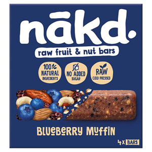 Nakd Blueberry Muffin Multipack 4 Pack