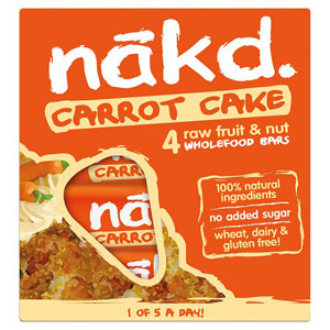 Nakd Carrot Cake Multipack 4 Pack