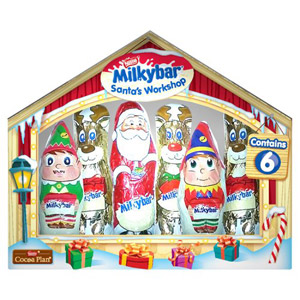 Milkybar Santas Workshop