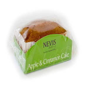 Nevis Bakery Apple & Cinnamon Cake