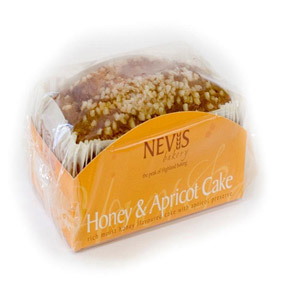 Nevis Bakery Honey & Apricot Cake