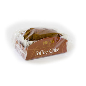 Nevis Bakery Toffee Cake
