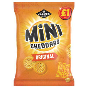 Jacobs Mini Cheddars Large Bag