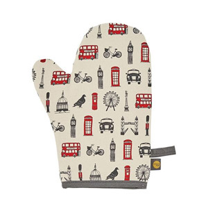 Victoria Eggs London Icons Oven Mitt