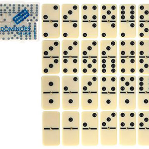 Dominoes Game Double 6 with Spinner