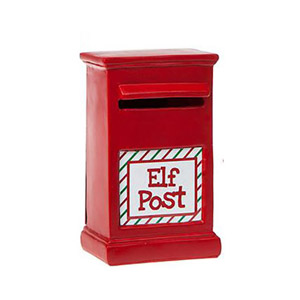 Elves Behavin' Badly Elf Post Box