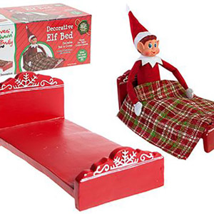 Elves Behavin' Badly Elf Bed